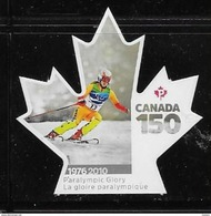 CANADA 2017  CANADA 150th  PARALYMPICS GAMES  DIE CUT - Carnets