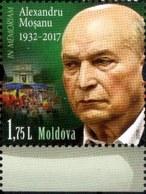 "Moldova 2018 ""In Memory Of A. Moshanu"" 1v Qualiti:100% - Moldova"