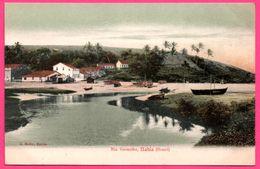 Brésil - Bahia - Rio Vermelho - Barque - Bateau - Edit. J. MELLO - Colorisée - Salvador De Bahia