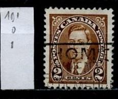 Canada - Kanada 1937 Y&T N°191 - Michel N°198 (o) - 2c George VI - 1937-1952 Règne De George VI