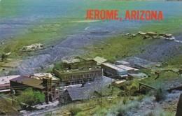 Arizona Jerome Main Street From Cleopatra Hill - United States