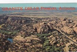 Arizona Prescott Aerial View Of Granite Dells - United States
