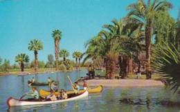 Arizona Phoenix Canoeing In Encanto Park - Phoenix