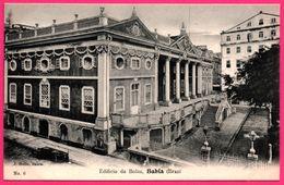 Brésil - Bahia - Edificio Da Bolsa - La Bourse - Edit. J. MELLO - Salvador De Bahia