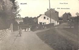 Bellaire - Place Fléron (animée, Edit. Aussens-Bohn, Rails, 1908) - Beyne-Heusay