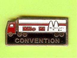 Pin's Mac Do McDonald's Camion Mile Hi Convention - 2BB12 - McDonald's