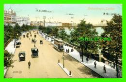 LONDON, UK - EMBANKMENT - ANIMATED - TRAVEL IN 1910 - ANIMATED - - London Suburbs
