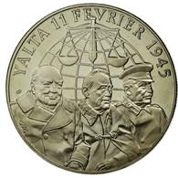 France, Médaille, Seconde Guerre Mondiale, Les Accords De Yalta, FDC - France