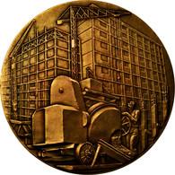 France, Médaille, Industrie, Constructeurs En Ciment Armé De France, 1960 - France