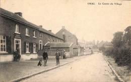 Omal - Le Centre Du Village (animée, Café Cerfontaine, Edit Henri Kaquet) - Geer