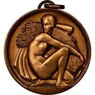 France, Médaille, Art Déco, Femme Aux Epis De Blé, Cochet, TTB+, Bronze - France