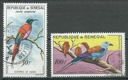 Sénégal Poste Aérienne YT N°31-32 Oiseaux Oblitéré ° - Senegal (1960-...)