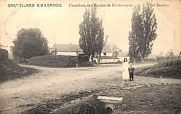 Sart-Tilman Kinkempois - Carrefour Des Routes De Kinkempois Et Renory (animée 1911) - Liege