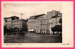 Praça Castro Alves - Bahia - Tramways Hippomobiles - Chevaux - Livraria Librairie REIS - Salvador De Bahia