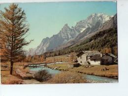 U4197 Cartolina Con Paesaggio Di Montagna Non Identificata _ Ed AR 37950/5 - Da Identificare