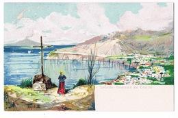 Cartolina - Postcard / Non Viaggiata - Unsent / Pittorica – Sorrento – Panorama Dal Deserto - Italia