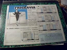 Vieux Papier FREGEVIA Refregirateur SUD AVIATION Espadon 2000 - Cambiali