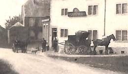 Saint-Jean-Sart - Vue Dans Le Village (Th. Jonckers, Animée Attelage Malle Poste ? 1908...adhésif Au Dos) - Aubel