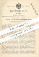 Original Patent - Max Arndt , Aachen , 1890 , Elektro-magnetisch Betätigte Schmier-Vorrichtung   Elektromagnet   Motor - Documents Historiques