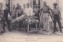 ANGERS         A CHACUN SA PART  .  THEME BOUCHERIE - Weltkrieg 1914-18