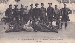 ANGERS        BLESSES ET VOLONTAIRES - Weltkrieg 1914-18