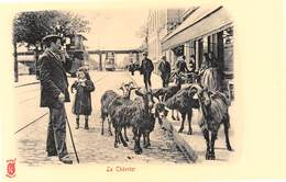 Paris Pittoresque Légende Rouge Künzli - Le Chevrier - Chèvres - Cecodi N'A 182 - France