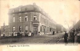 Ougrée - Rue De Boncelles (animée, Chaussures Mertens, Edit. Cornet-Lenfant Fontaine 1906) - Seraing