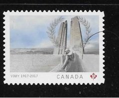 CANADA 2017.  2982iv  CENTENARY Of The BATTLE Of VIMY RIDGE,  DIE CUT TYPE 5  From Quartely Pack - Carnets