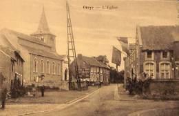 Oreye - L'Eglise (animée, Edit. Henri Kaquet) - Oreye