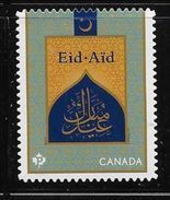 CANADA 2017, EID AID SINGLE,  Two Of The Celebrations By Muslins  Worldwide  DIE CUT  Mnh - Carnets