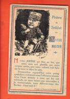 EBG-17 Prière Du Soldat, Pater Noster. Maréchal Joffre. Non Circulé - Weltkrieg 1914-18