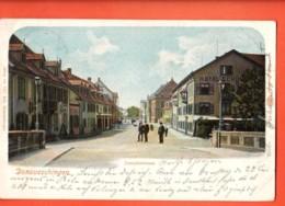 EBG-19 Donaueschingen  Josephstrasse  Belebt. Pionier. Gelaufen 1910 - Donaueschingen