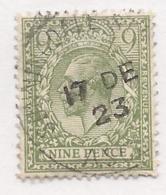 16412) GB UK 1922 Script GvR Watermark - 1902-1951 (Rois)