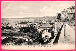 Bahia - Rua Da Montanha - Plage - Mer - Barque - Edit. J.MELLO - Brésil