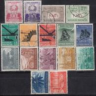 INDONESIEN 1957-1960 -  16 Werte  **/MNH - Used - Indonesien