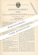 Original Patent - Carl Pahde , Köln / Rhein , Petroleum Kochapparat   Kocher , Kochherd , Herd , Ofen , Öl , Brenner ! - Documents Historiques