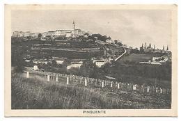 POSTCARD OF PINGUENTE ( BUZET ) -  REPUBLIKA HRVATSKA , 1936 . - Croatia