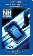 CLE-n-MAGNETIQUE-11/00- HOTEL-HN- ESPAGNEv° CB AmericanExpress HN Club-TBE - France