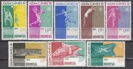 INDONESIEN 1962 - MiNr: 345-364 8 Werte ** / MNH - Indonesien