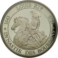 France, Médaille, Les Rois De France, Louis XIV, FDC, Copper-nickel - France