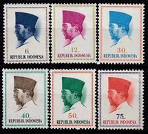 INDONESIEN 1964 - MiNr: 425-434  6 Werte ** / MNH - Indonesien