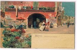 Cartolina - Postcard / Non Viaggiata - Unsent / Napoli – Venditrici Di Verdura - Napoli