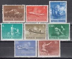 INDONESIEN 1964 - MiNr: 435-453  8 Werte ** / MNH - Used - Indonesien