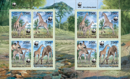 NIGER 2013 - WWF. Giraffes 8v - YT 1776-9; CV=32 € - Niger (1960-...)