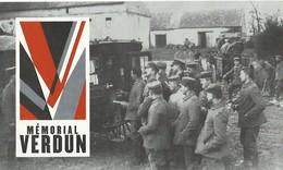 2 BILLETS D'ENTREE Au MEMORIAL De VERDUN - 1914-18