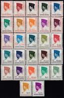 INDONESIEN 1965 - MiNr: 473-535  27 Werte ** / MNH - Indonesien