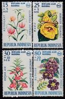 INDONESIEN 1966 - MiNr: 536-539  Komplett ** / MNH - Indonesien