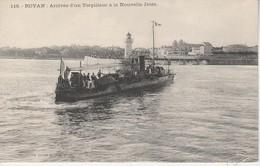 17 - ROYAN - Arrivée D'un Torpilleur à La Nouvelle Jetée - Royan
