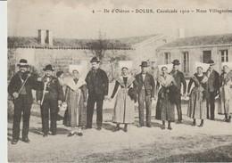 C P A - ILE D'OLERON - DOLUS - CALVACADE 1910 - NO VILLAGEOISE - G. NAUD - 4 - Ile D'Oléron