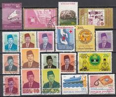 INDONESIEN 1980-1984 - 20 Werte    Used - Indonesien